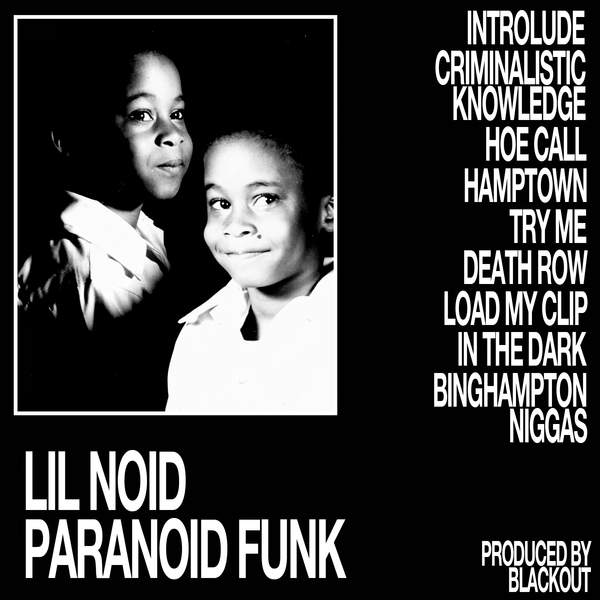Lil Noid Paranoid Funk L.A. Club Resource vinyl cover